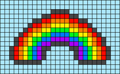 Alpha pattern #44445