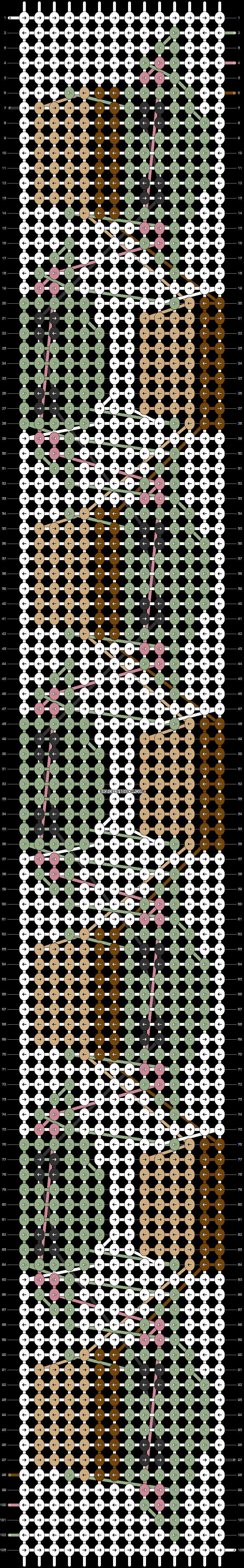 Alpha pattern #44447 pattern