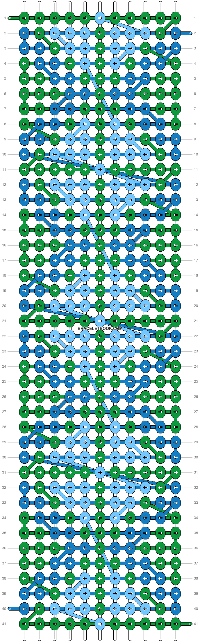 Alpha pattern #44449 pattern