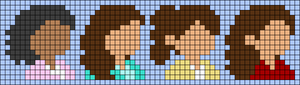 Alpha pattern #44452