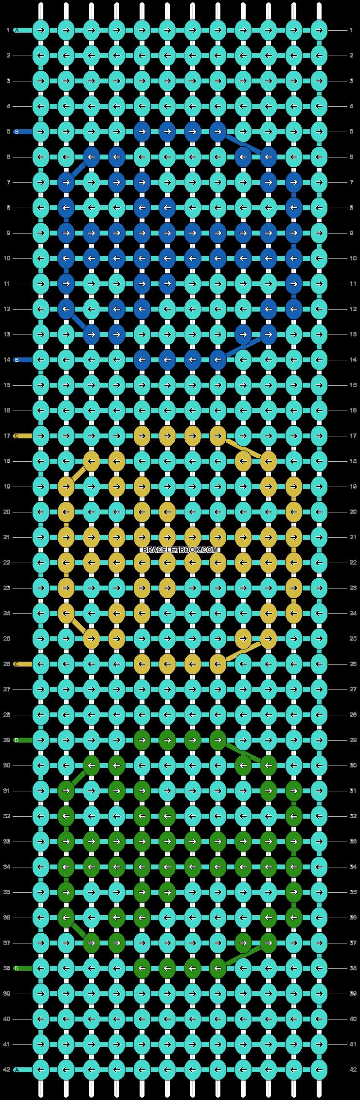 Alpha pattern #44462 pattern