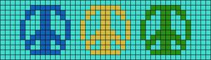 Alpha pattern #44462