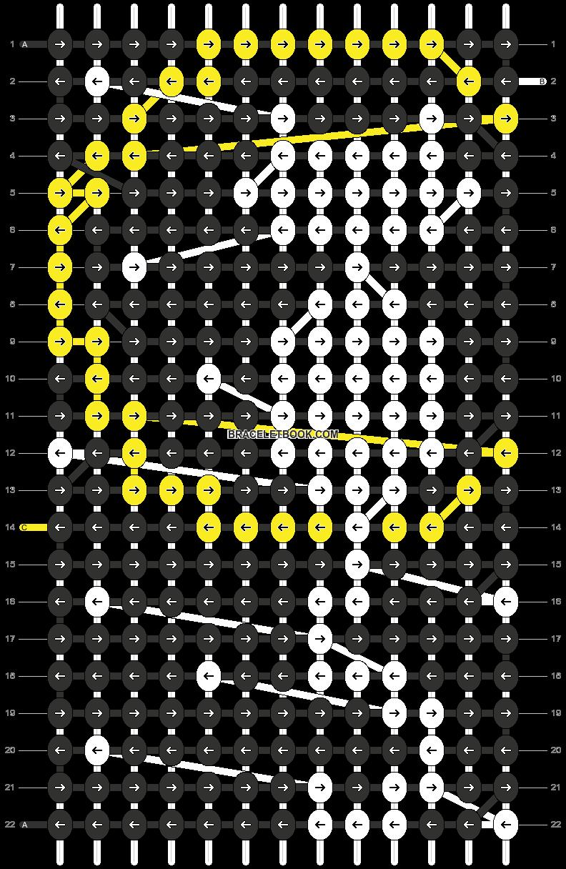 Alpha pattern #44464 pattern