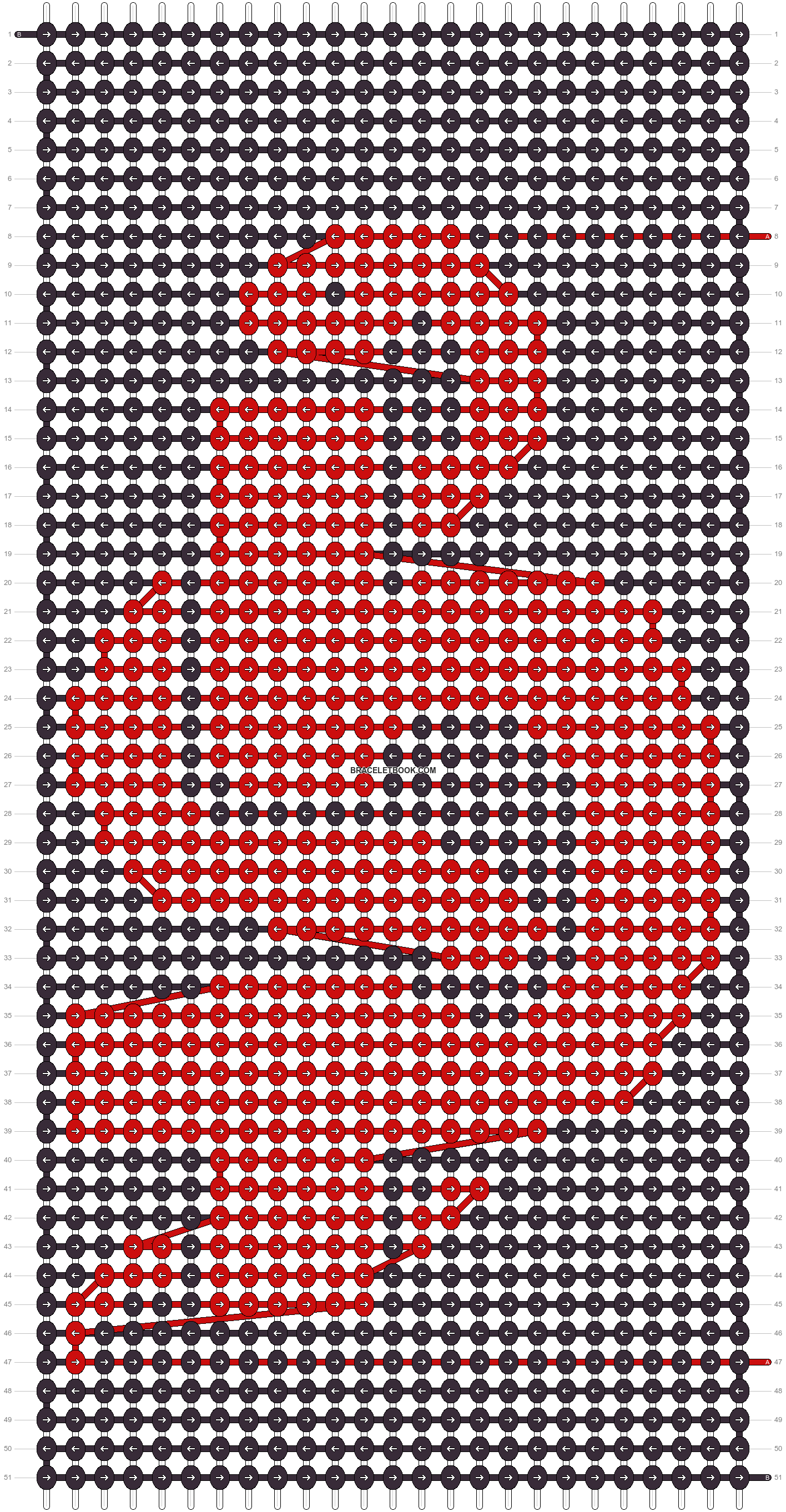 Alpha pattern #44491 pattern