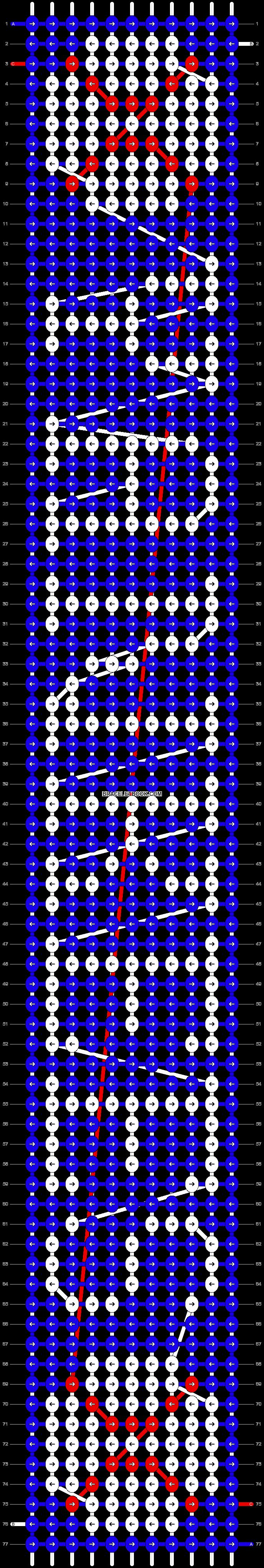 Alpha pattern #44506 pattern