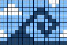Alpha pattern #44597