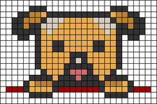 Alpha pattern #44599