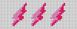 Alpha pattern #44605