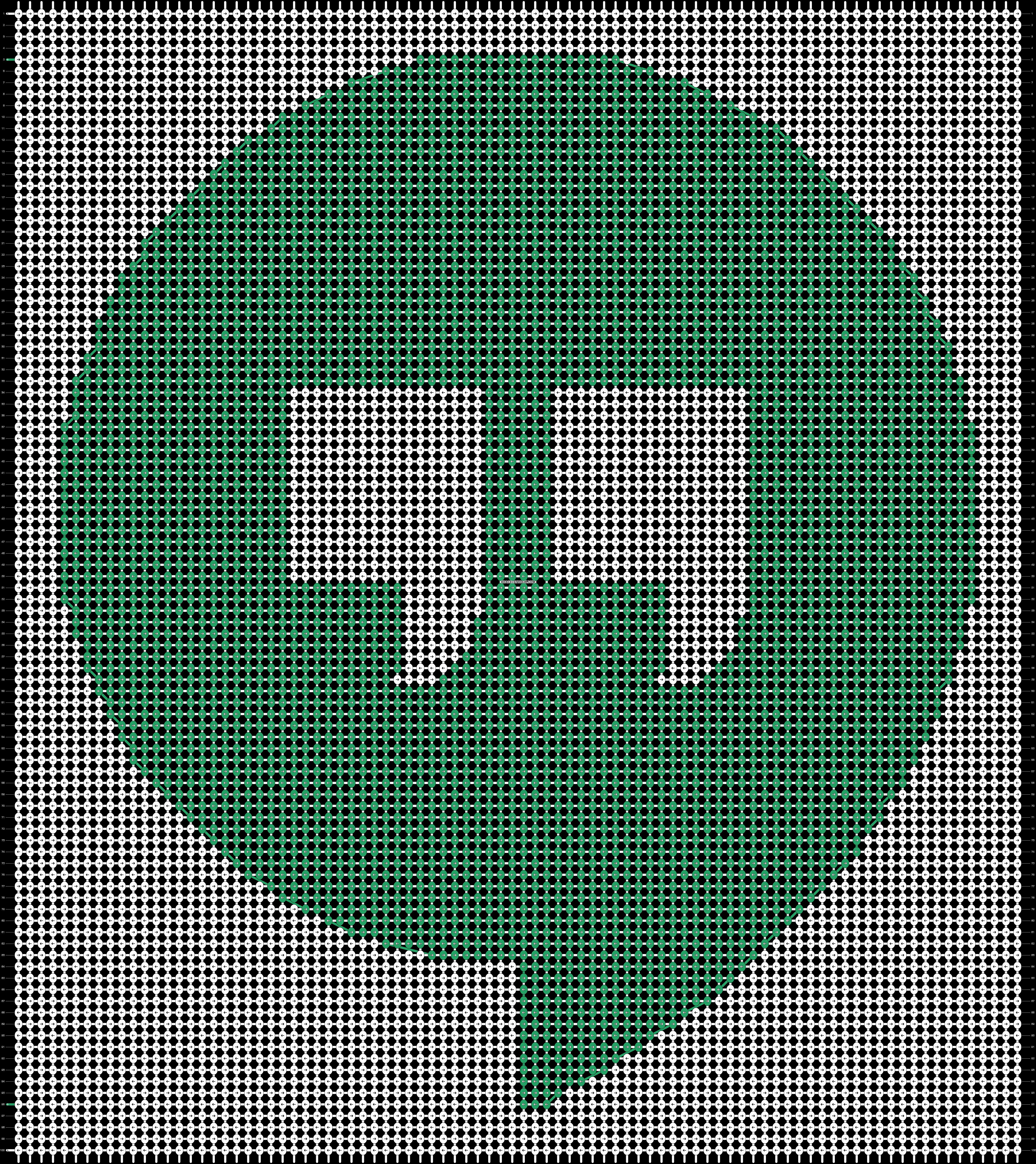 Alpha pattern #44611 pattern
