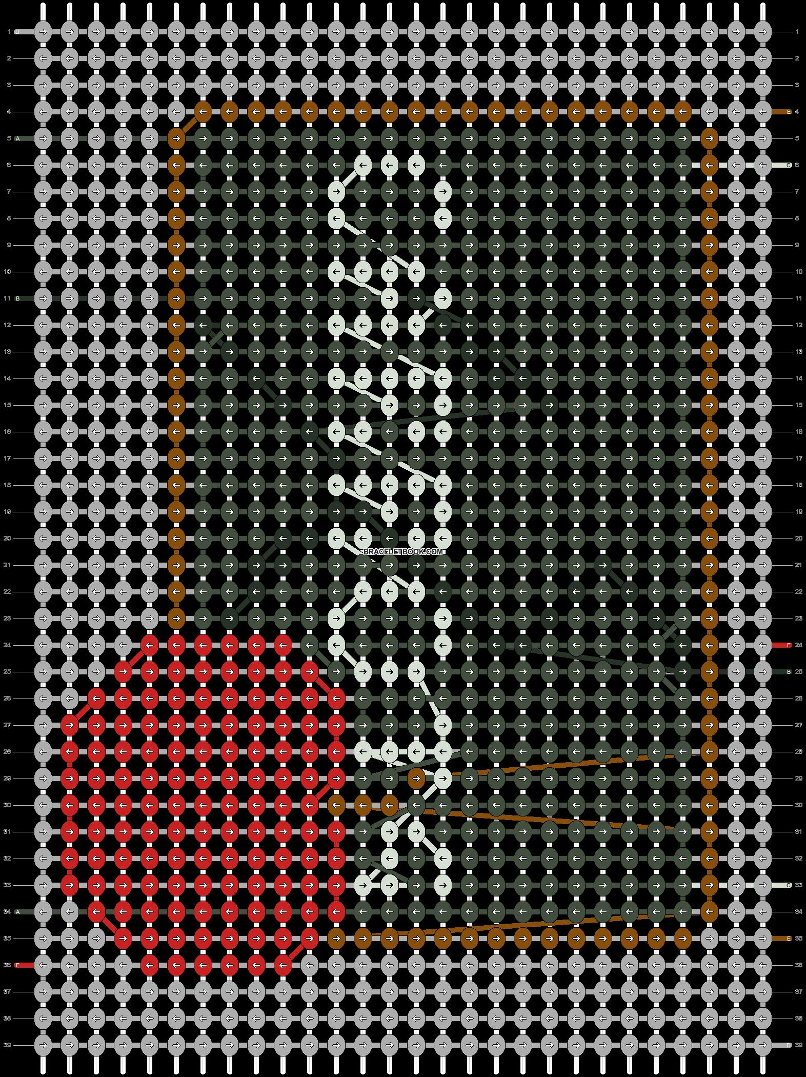 Alpha pattern #44626 pattern
