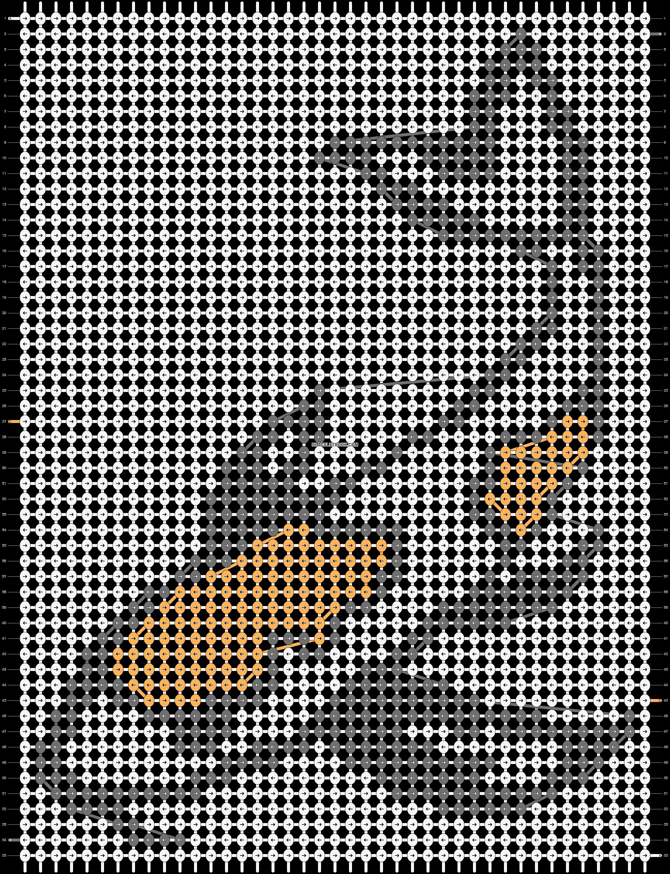 Alpha pattern #44632 pattern
