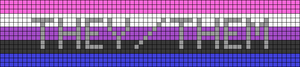 Alpha pattern #44635