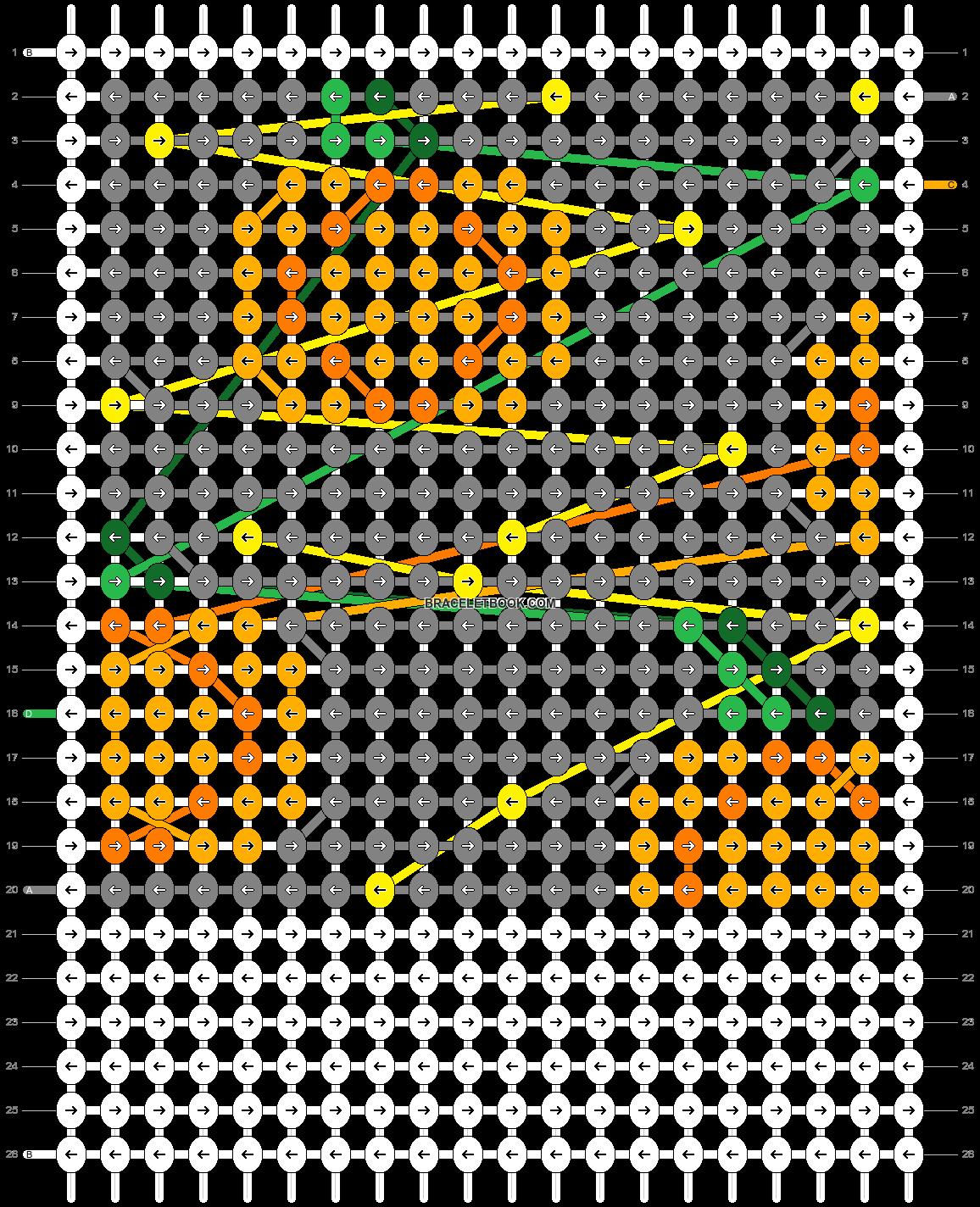 Alpha pattern #44646 pattern
