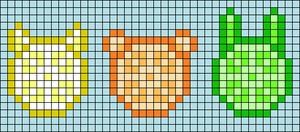 Alpha pattern #44662