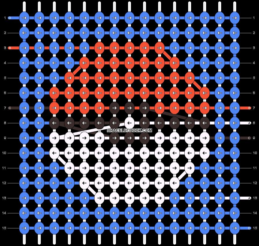 Alpha pattern #44682 pattern