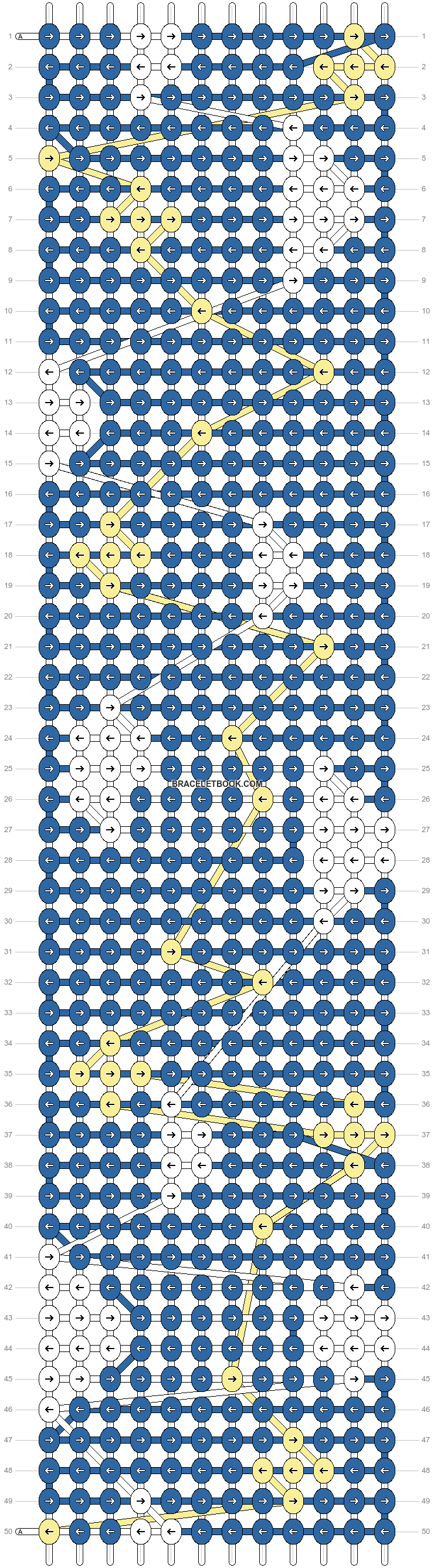 Alpha pattern #44700 pattern