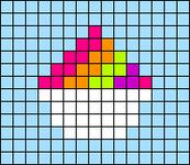 Alpha pattern #44701