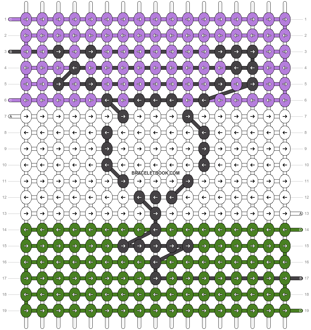 Alpha pattern #44704 pattern