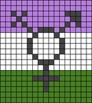 Alpha pattern #44704