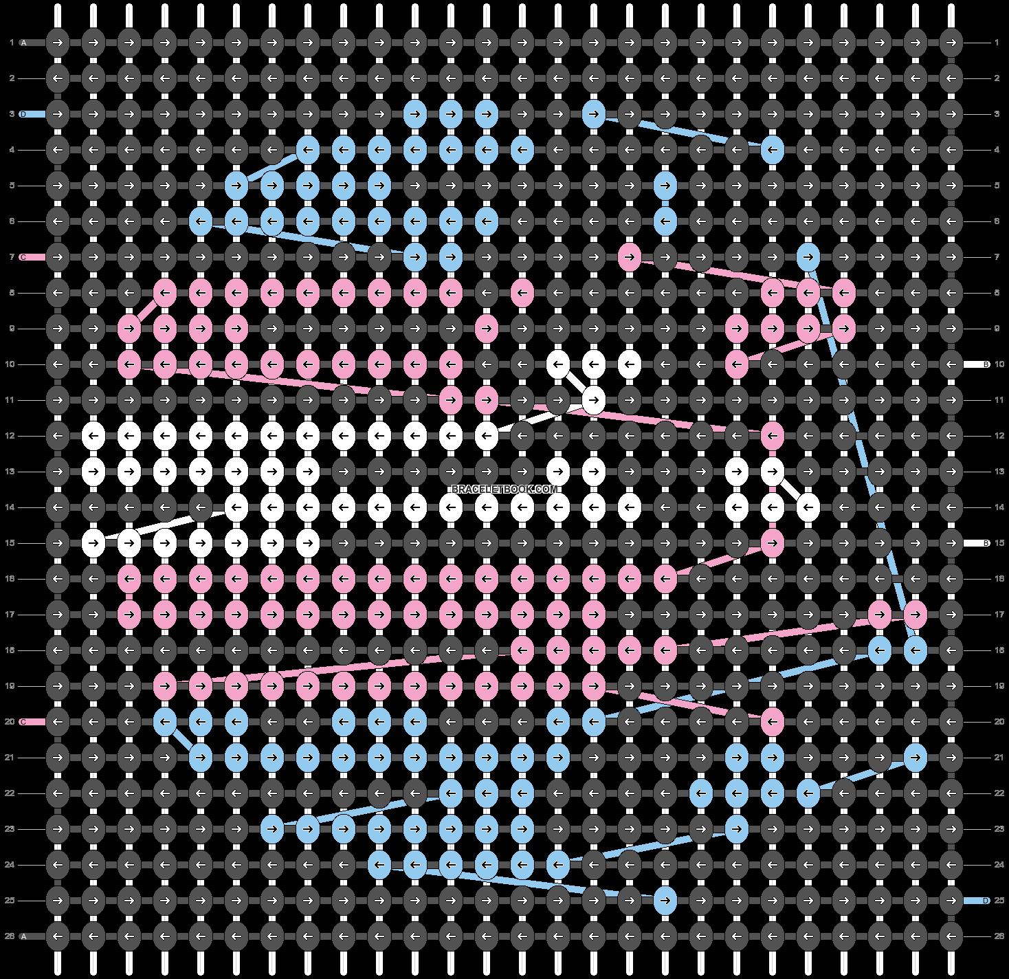Alpha pattern #44714 pattern