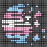 Alpha pattern #44714