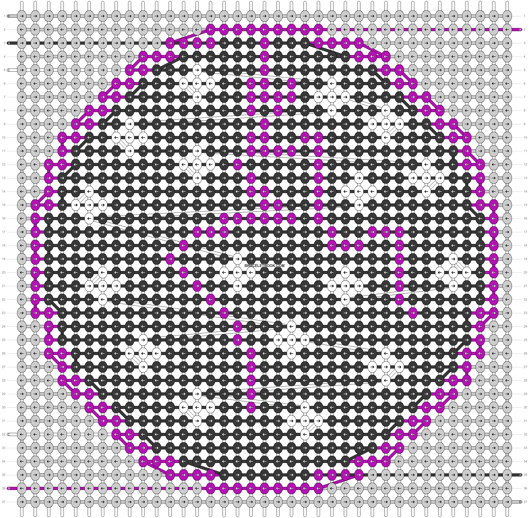 Alpha pattern #44719 pattern