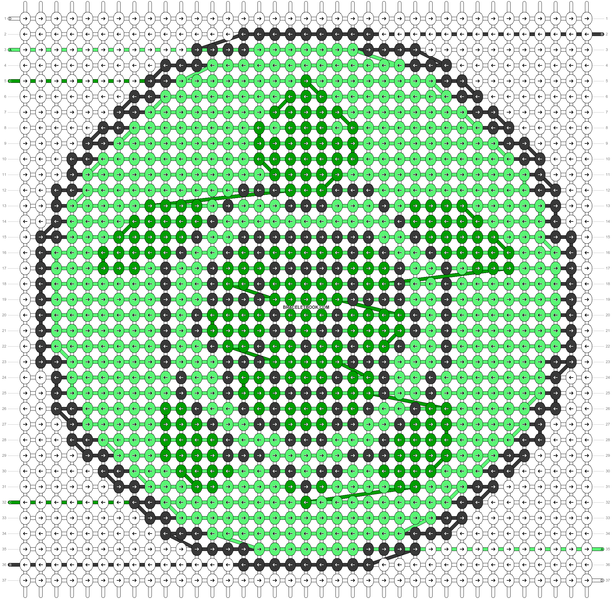 Alpha pattern #44720 pattern