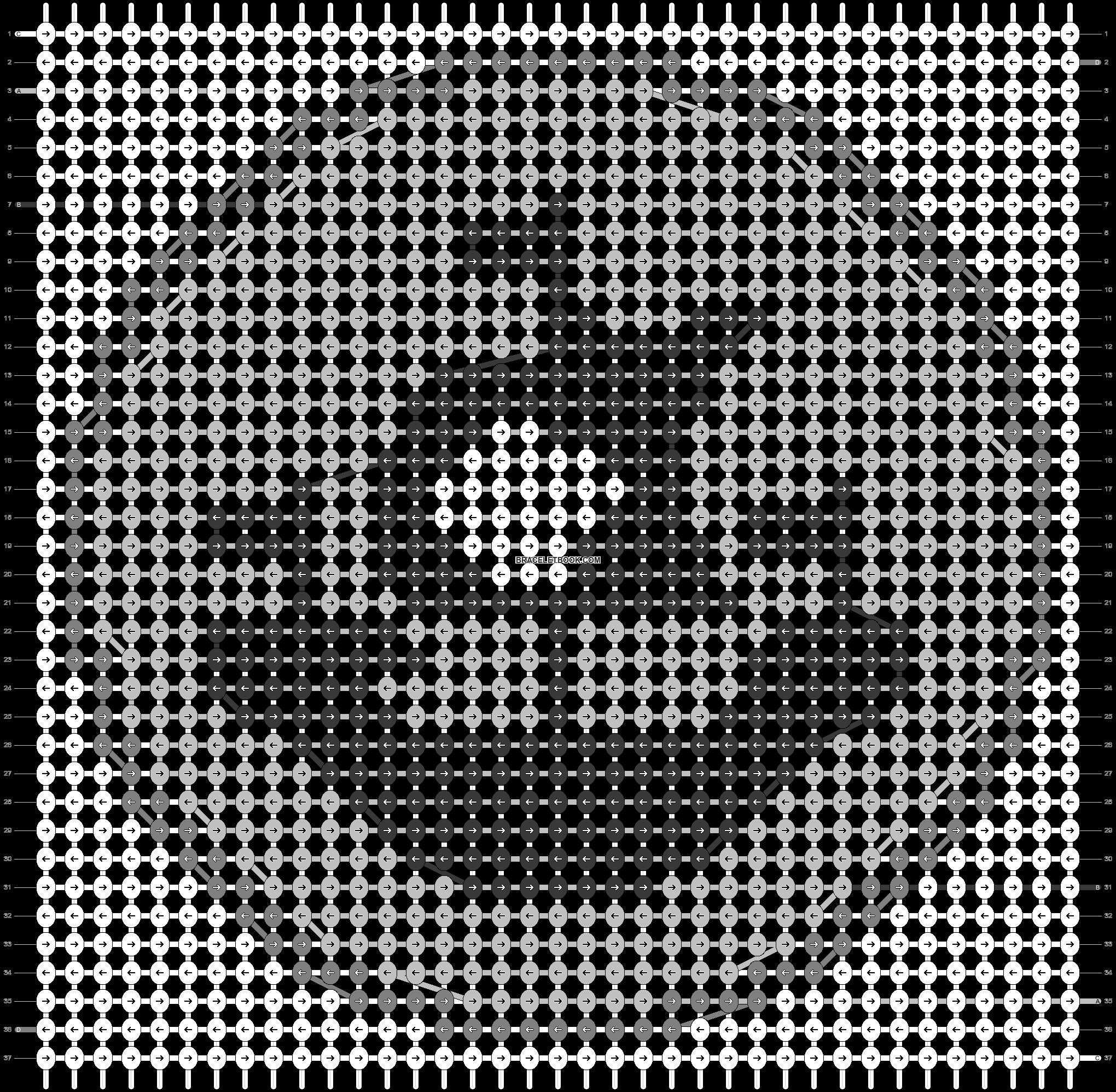 Alpha pattern #44722 pattern