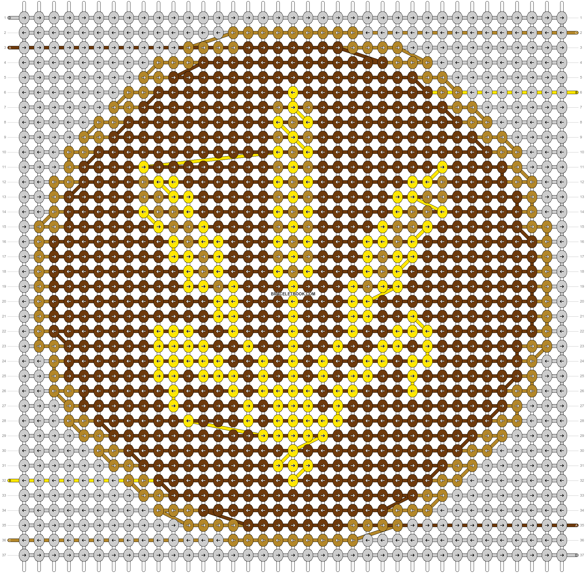 Alpha pattern #44723 pattern