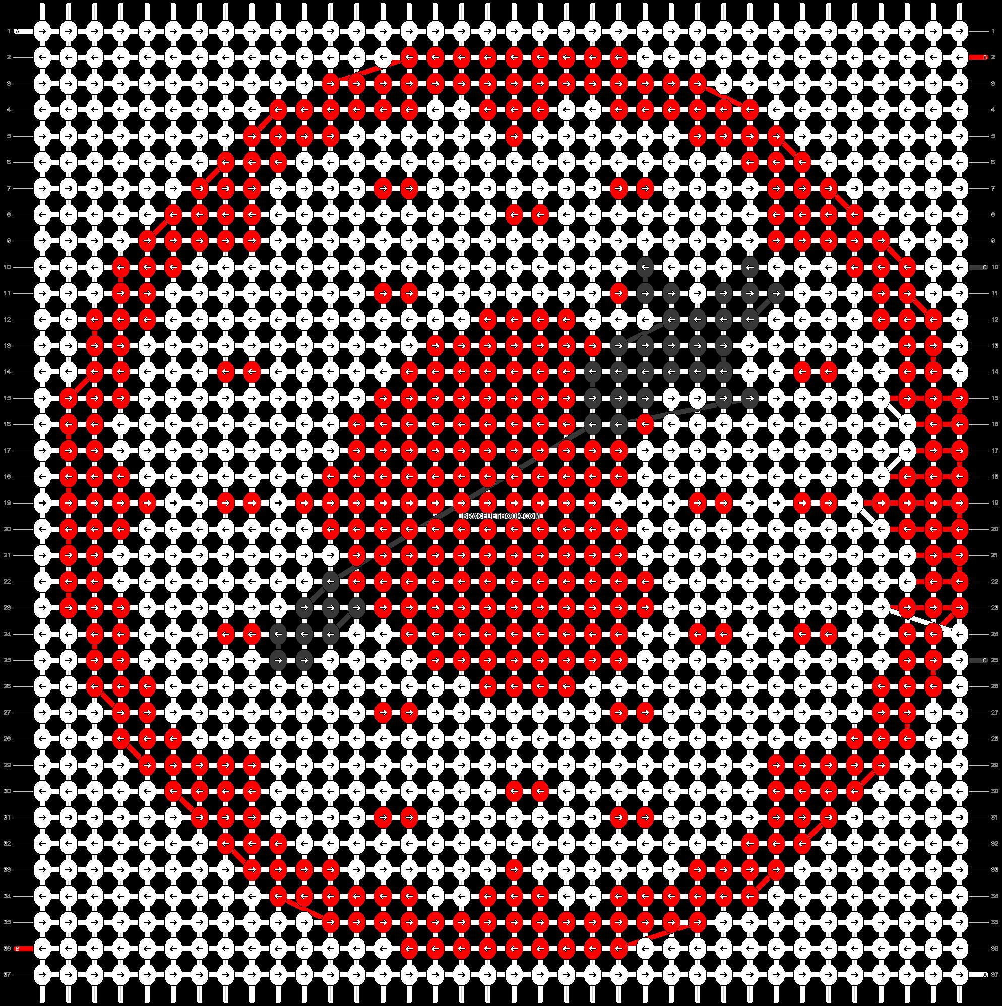 Alpha pattern #44726 pattern