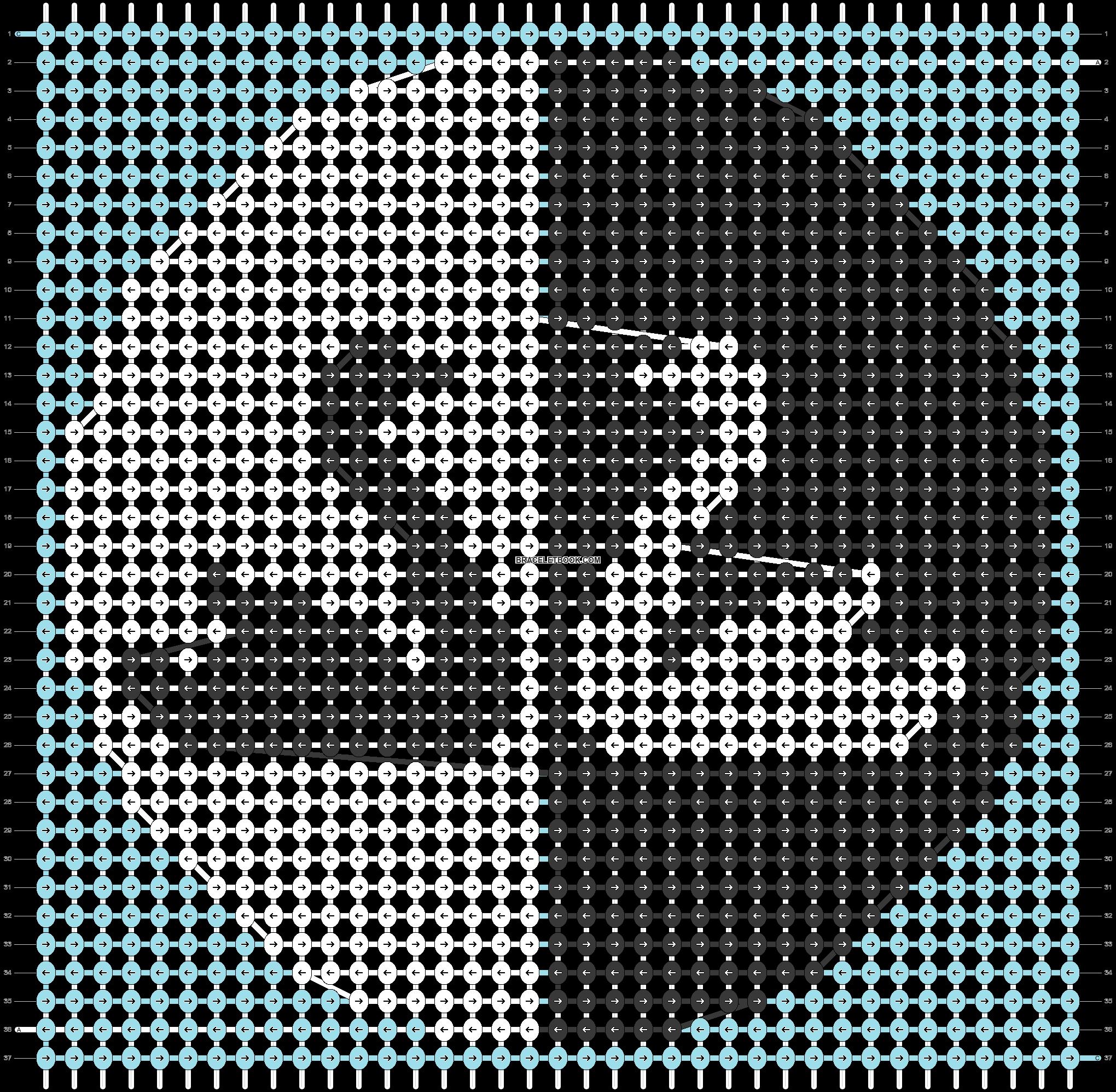 Alpha pattern #44727 pattern