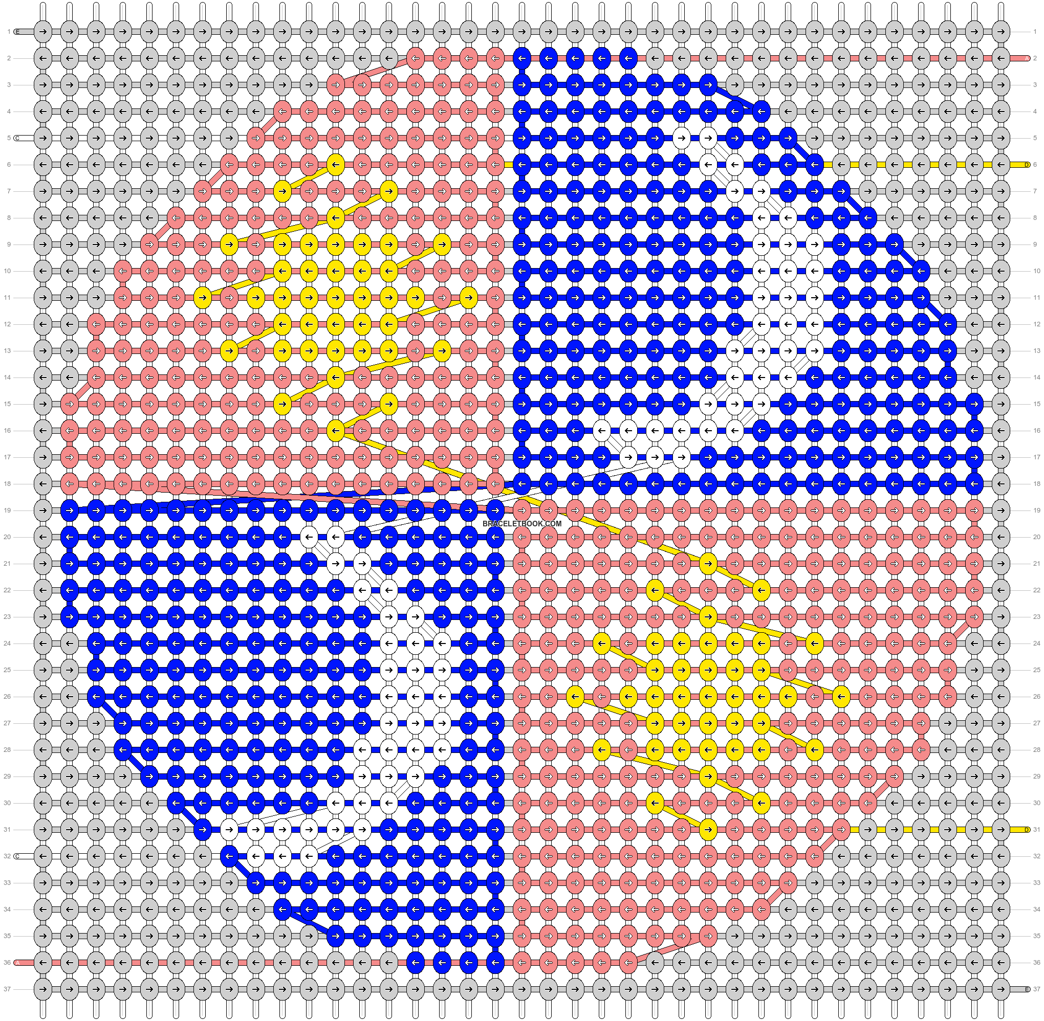 Alpha pattern #44729 pattern