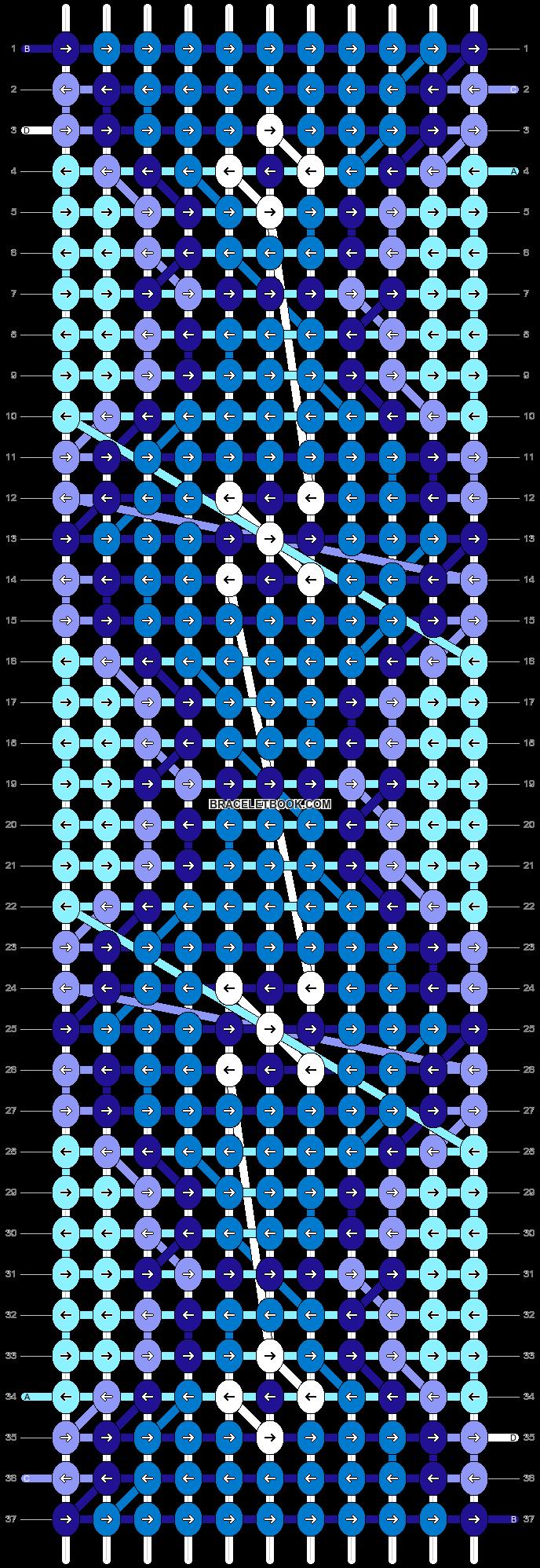 Alpha pattern #44748 pattern