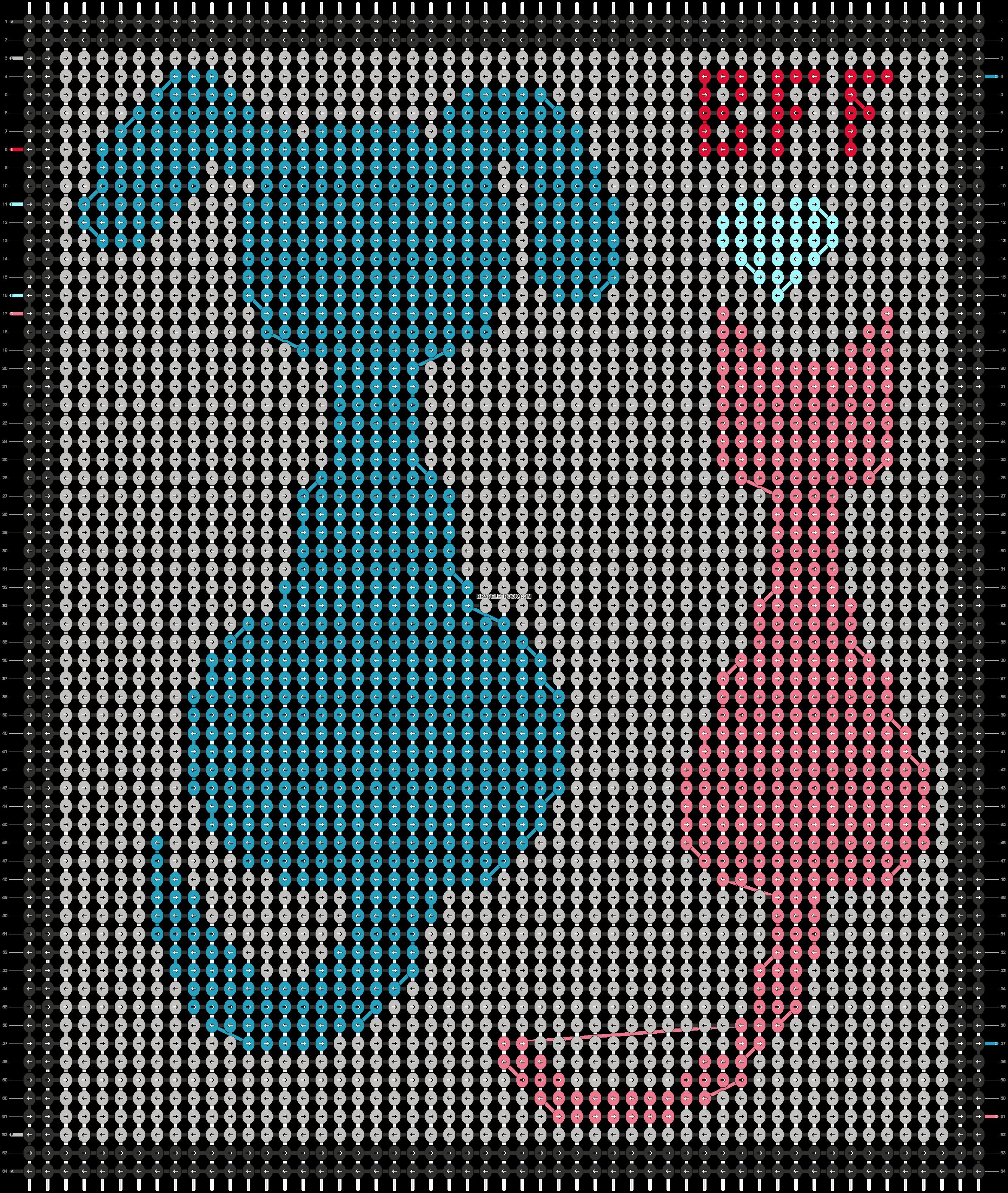 Alpha pattern #44749 pattern