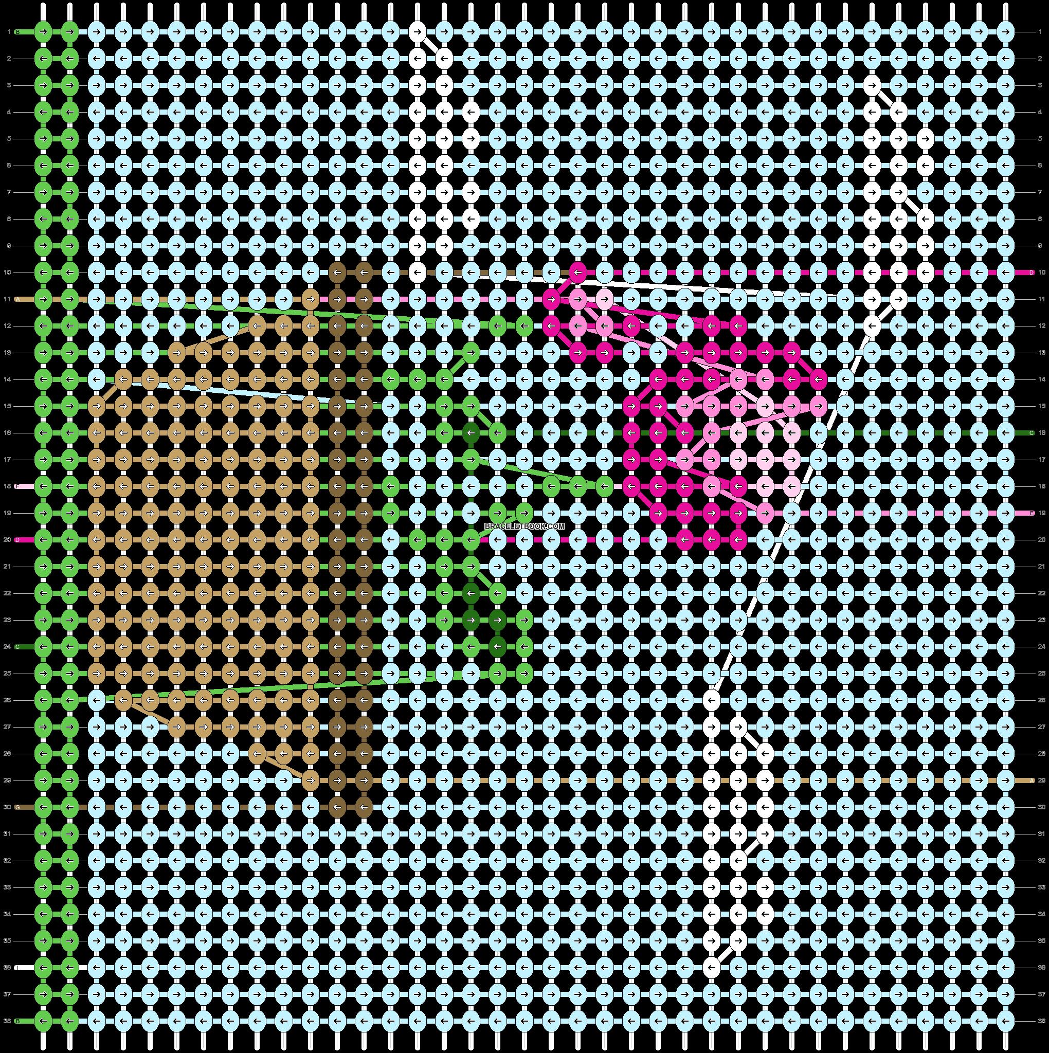 Alpha pattern #44764 pattern