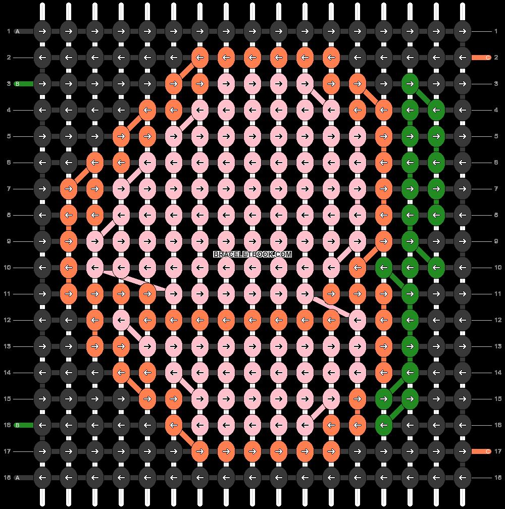 Alpha pattern #44773 pattern