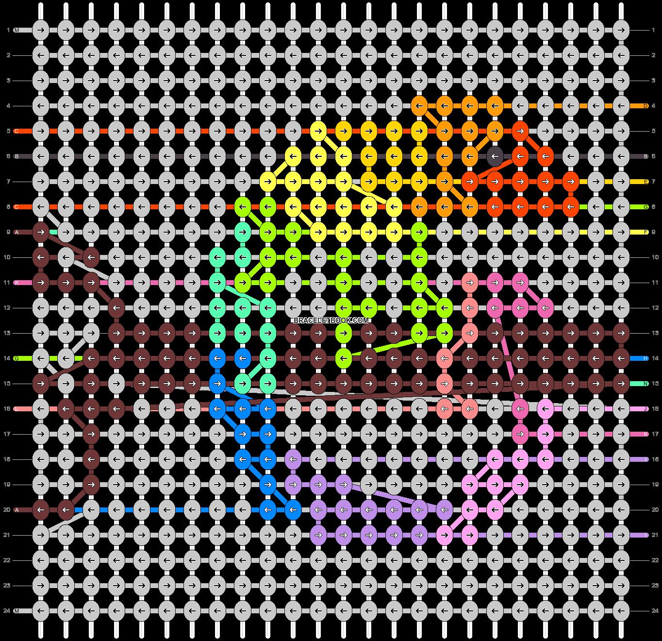 Alpha pattern #44792 pattern