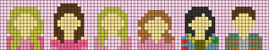 Alpha pattern #44795
