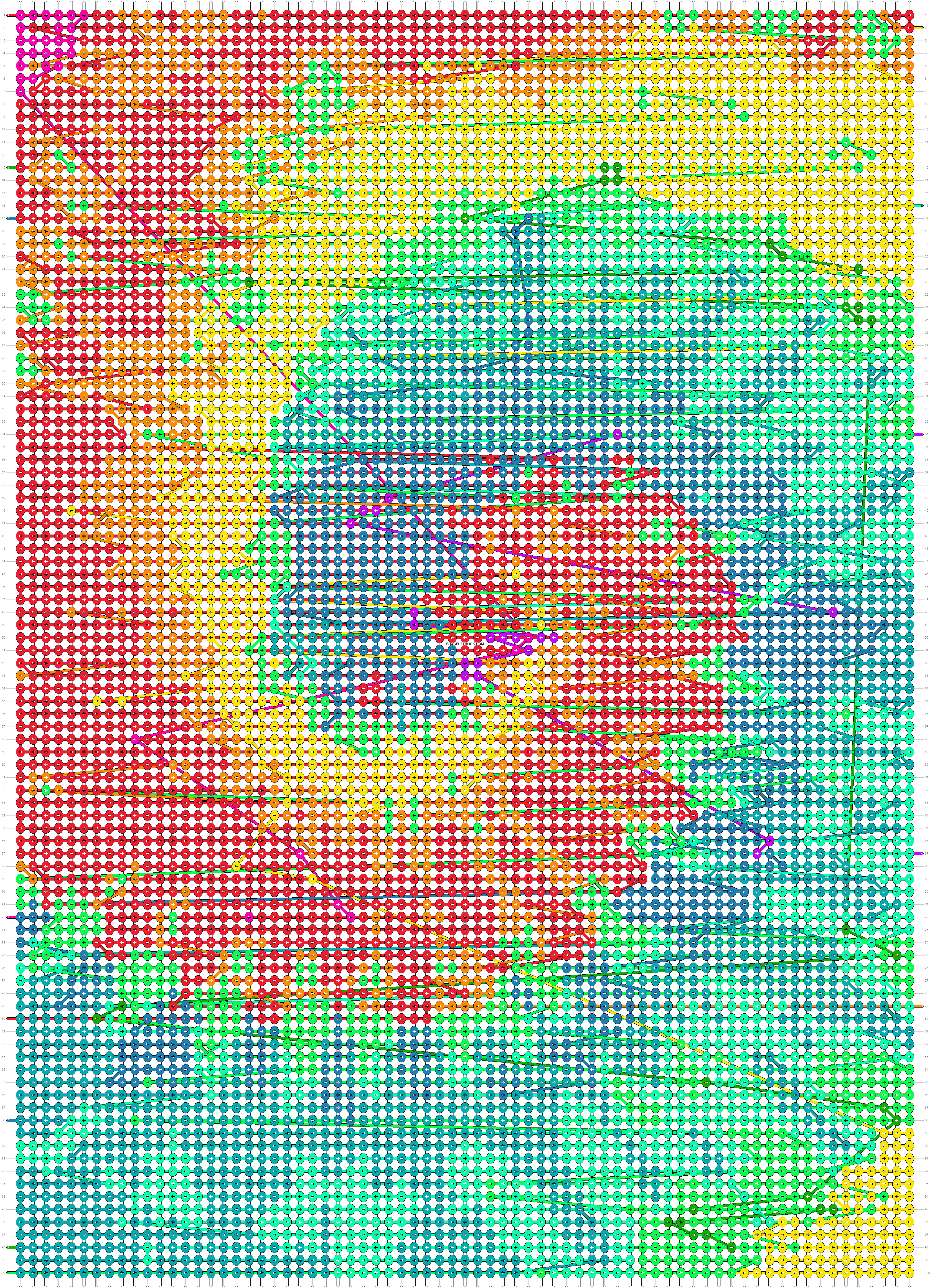 Alpha pattern #44841 pattern