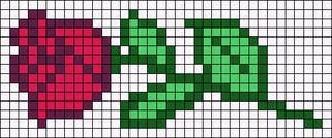 Alpha pattern #44843
