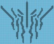 Alpha pattern #44855