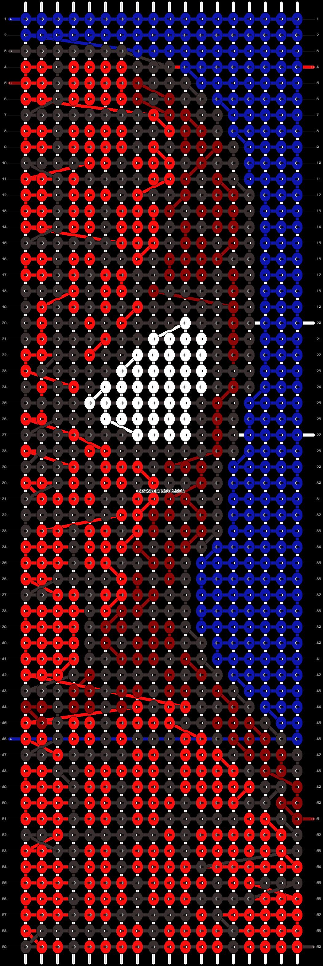 Alpha pattern #44874 pattern