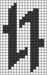 Alpha pattern #44922