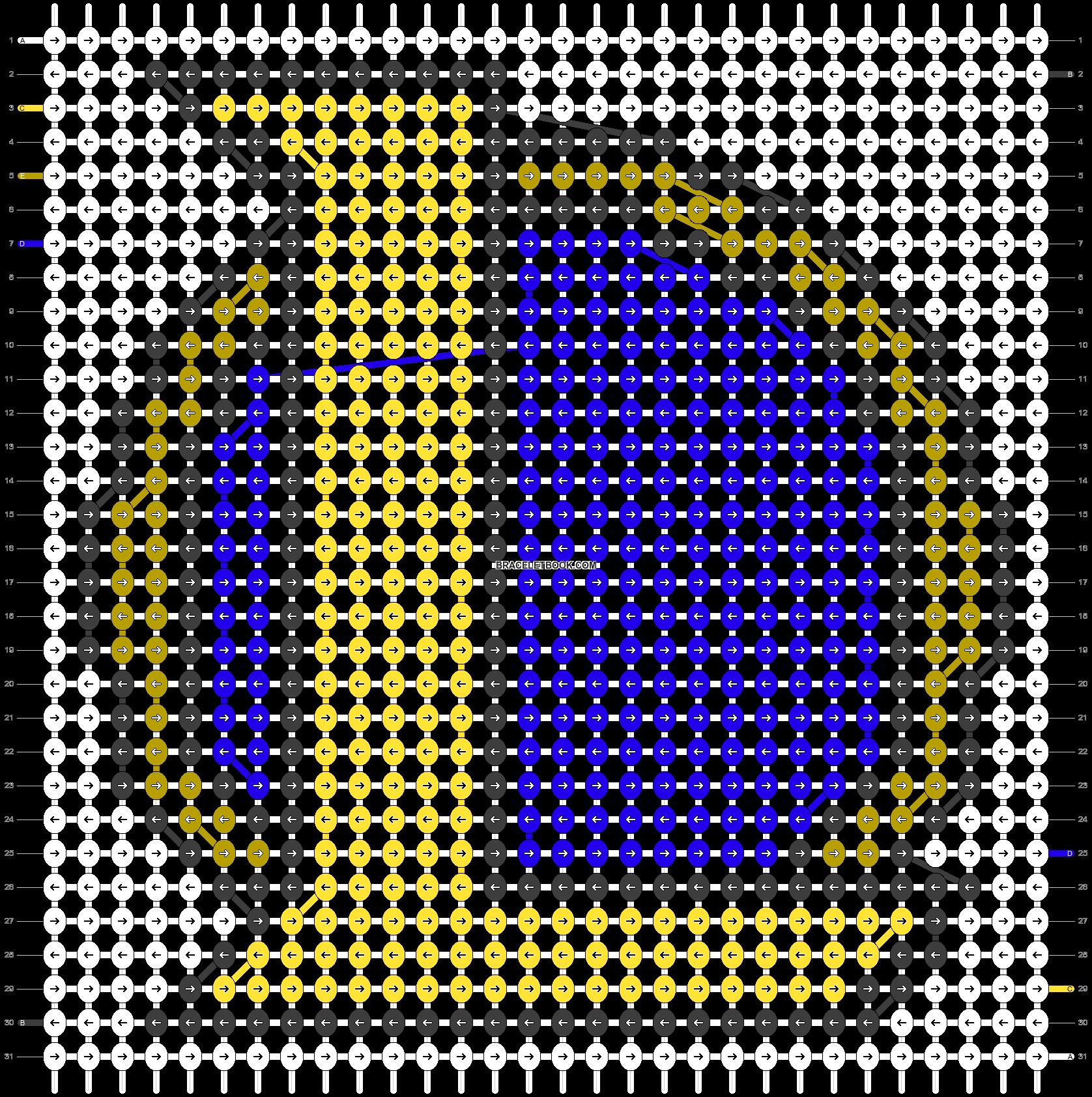 Alpha pattern #44939 pattern