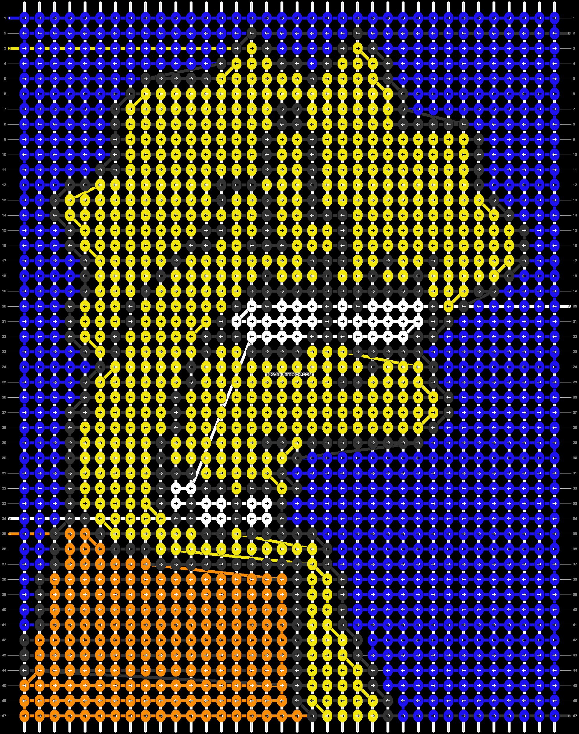 Alpha pattern #44947 pattern