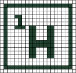Alpha pattern #44962