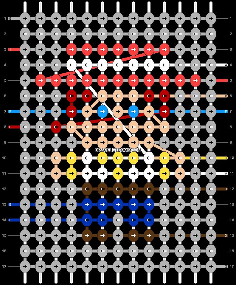 Alpha pattern #44972 pattern
