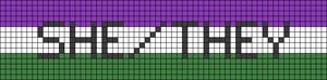 Alpha pattern #44985