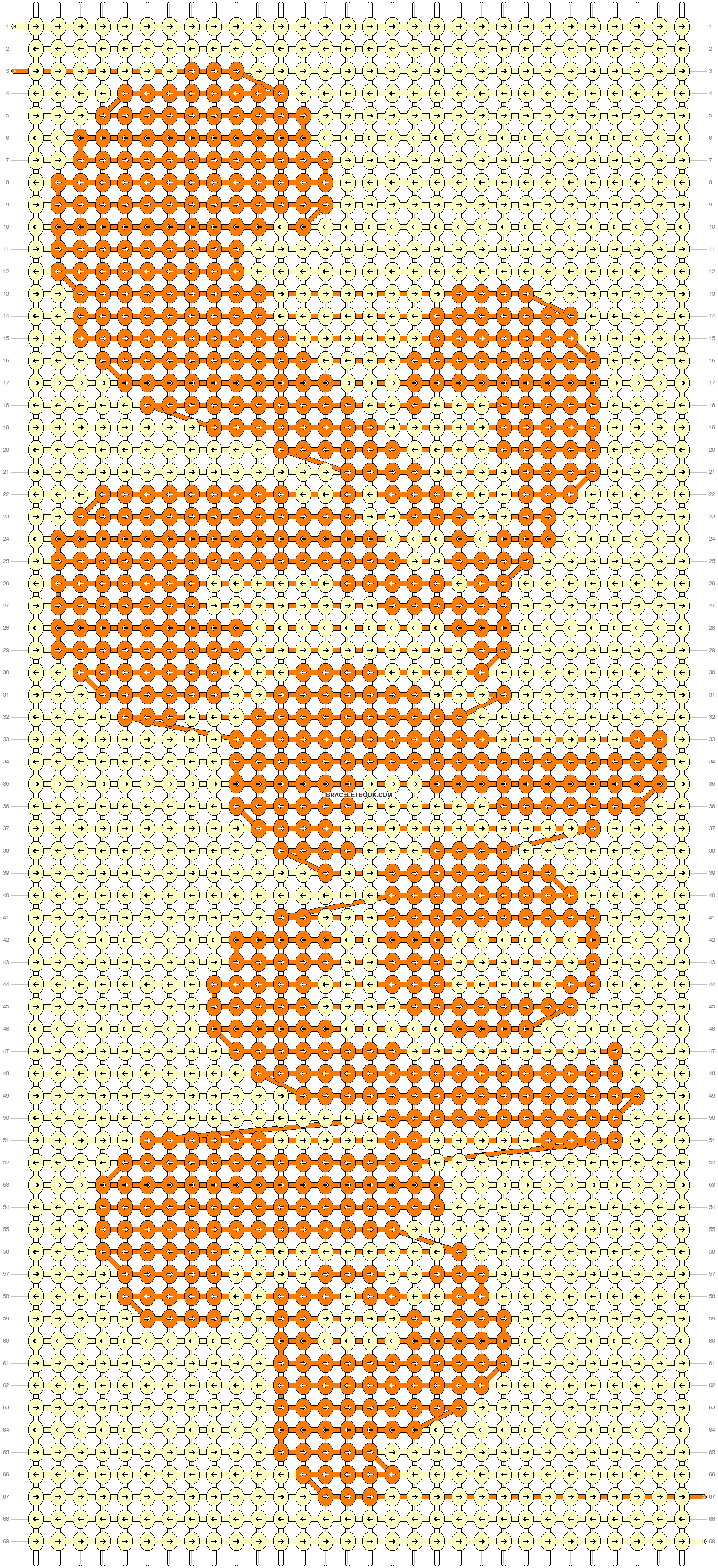 Alpha pattern #44988 pattern