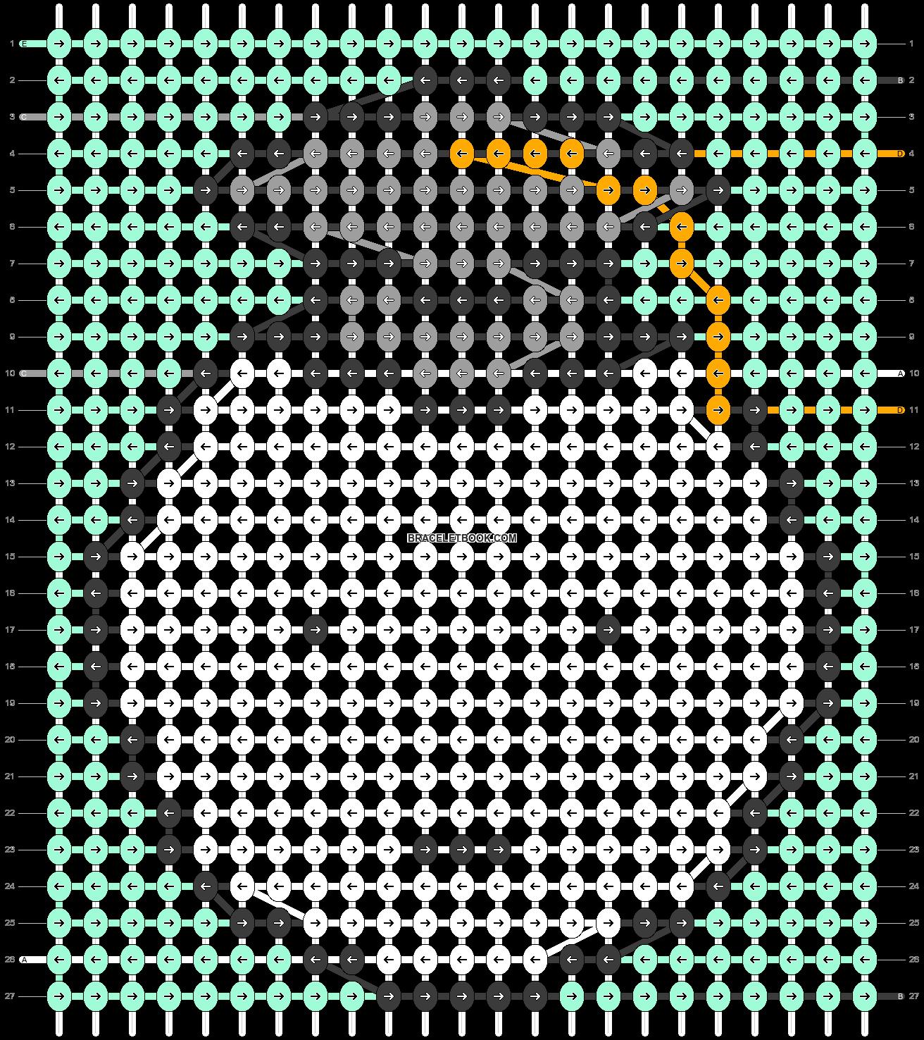 Alpha pattern #44997 pattern